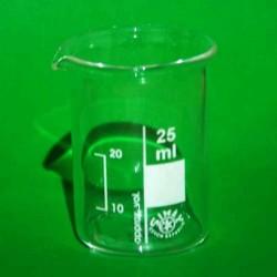 Стакан склян. 25 мл зі шкалою