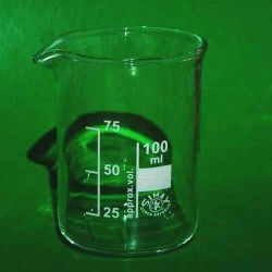 Стакан склян. 100 мл со шкалой