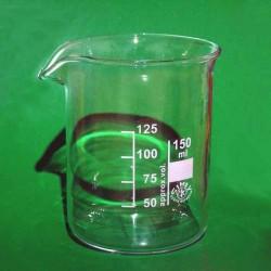 Стакан склян. 150 мл зі шкалою