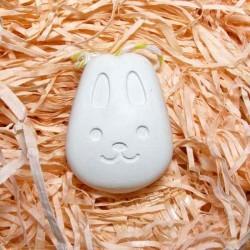 Мордочка зайця гіпсова фігурка