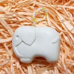 Слоненок гипсовая фигурка