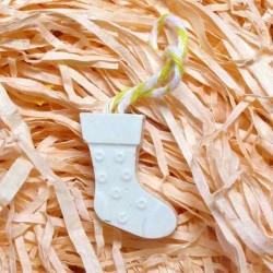 Різдвяний чобіток гіпсова...
