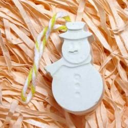 Сніговик гіпсова фігурка