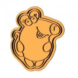 Пухкенька мишка форма для...