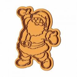 Веселый Санта форма для...
