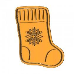 Рождественский носок форма...