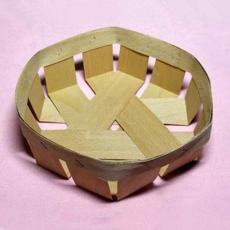 Корзинка шестиугольная 12х12х3,5 см