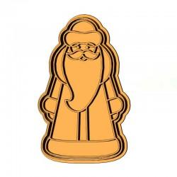 Санта Клаус форма для пряника