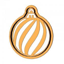 Елочный шарик форма для...