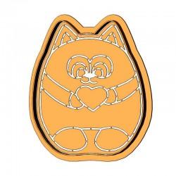 Пухнастий кіт із серцем...