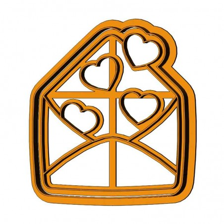 Любовное письмо форма для пряника
