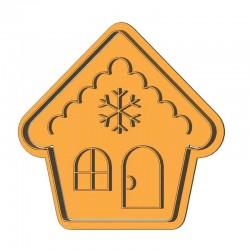Новогодний домик форма для...