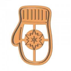 Варежка форма для пряника