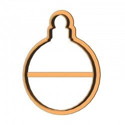Ялинкова кулька форма для...