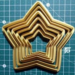 Звезды набор форм для пряников