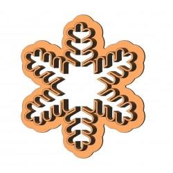 Сніжинка форма для пряника
