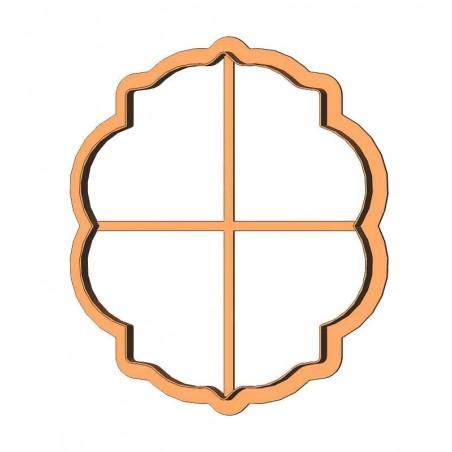 Рамка овал фігурний форма для пряника