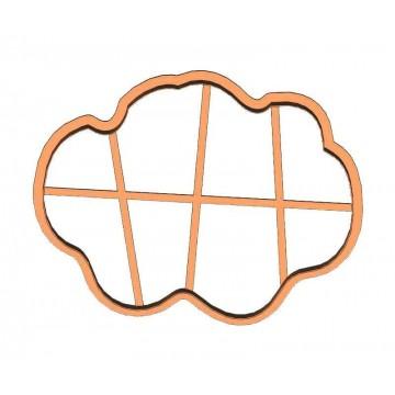 Рамка хмарка форма для пряника