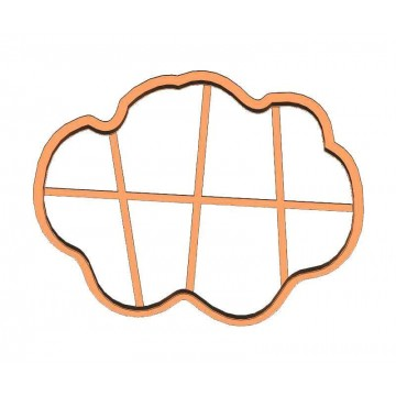 Рамка тучка форма для пряника