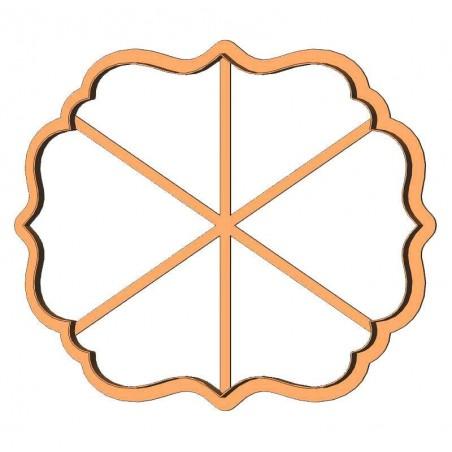 Рамка квадрат фігурний форма для пряника