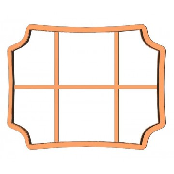 Рамка прямокутник фігурний...