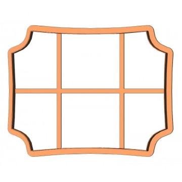 Рамка прямоугольник...