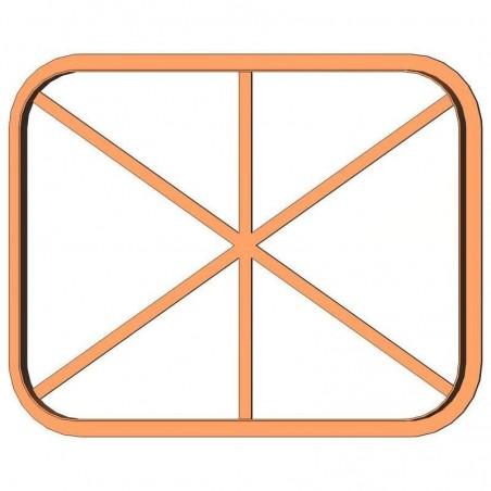 Рамка прямокутник форма для пряника