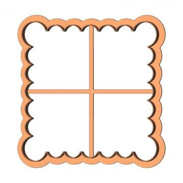 Рамка квадрат фігурний...