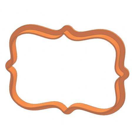 Рамка прямокутник фігурний форма для пряника