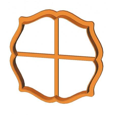 Рамка коло фігурне форма для пряника