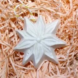 Різдвяна зірка гіпсова фігурка