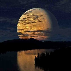 Лунное затмение отдушка