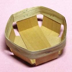 Кошик шестикутний 9х9х4,5 см