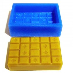 Плитка шоколада силиконовая...