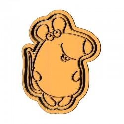 Мышонок толстячок форма для...