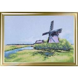 Вітряк у Голландії